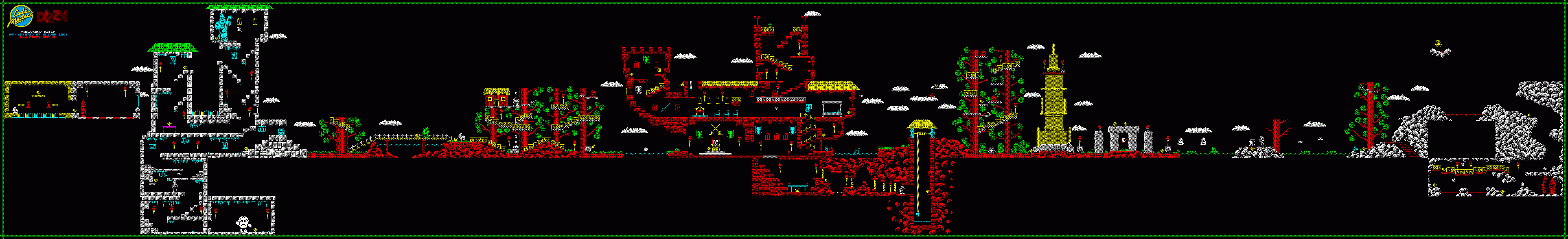 Game Map (Spectrum/Amstrad)