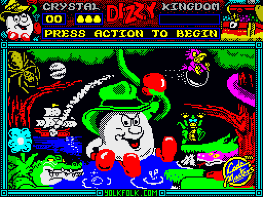 Crystal Kingdom Dizzy (DizzyAGE Remake)