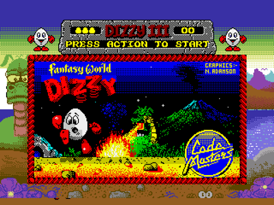 Fantasy World Dizzy (DizzyAGE Remake)