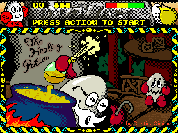 Dizzy and the Healing Potion